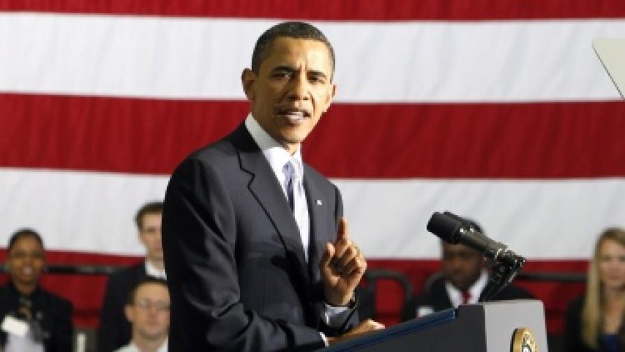 Обама: След 25 г. ще пратим хора на Марс