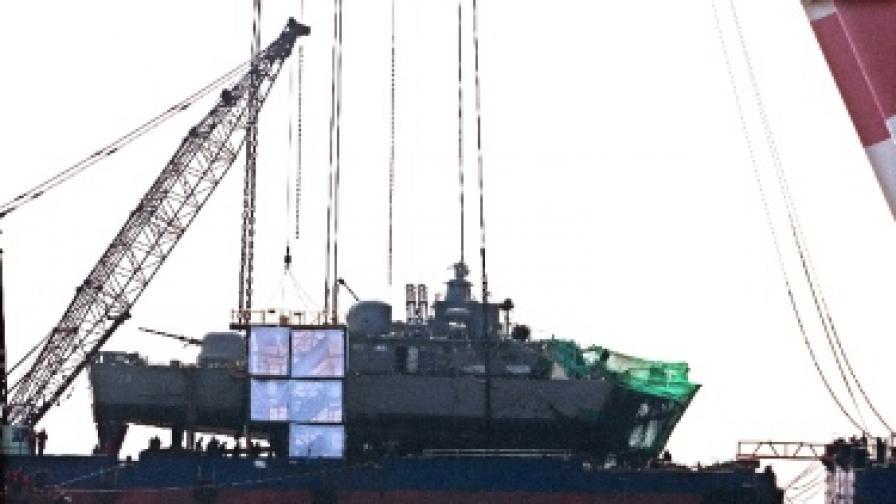 """Разузнаването: """"Чеонан"""" е бил потопен от КНДР"""