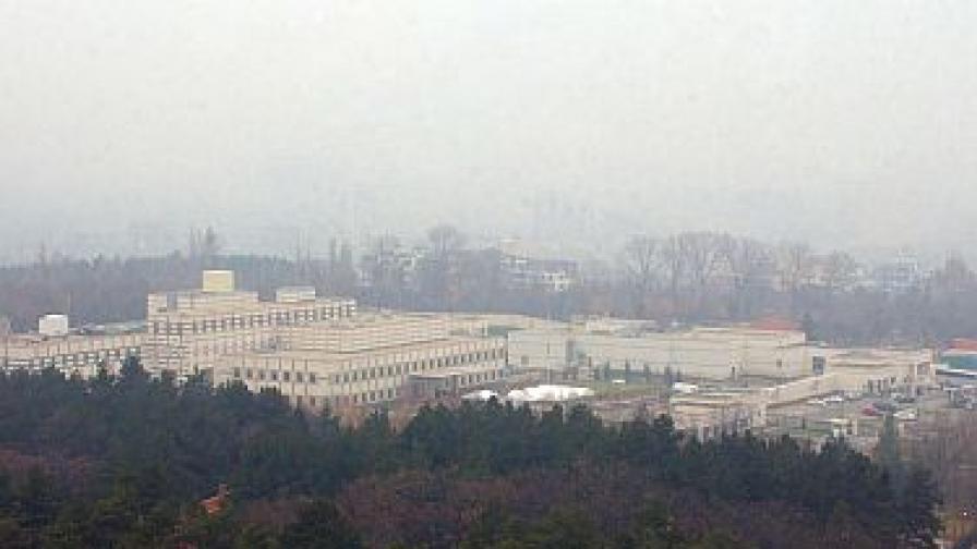 Сградата на американското посолство у нас