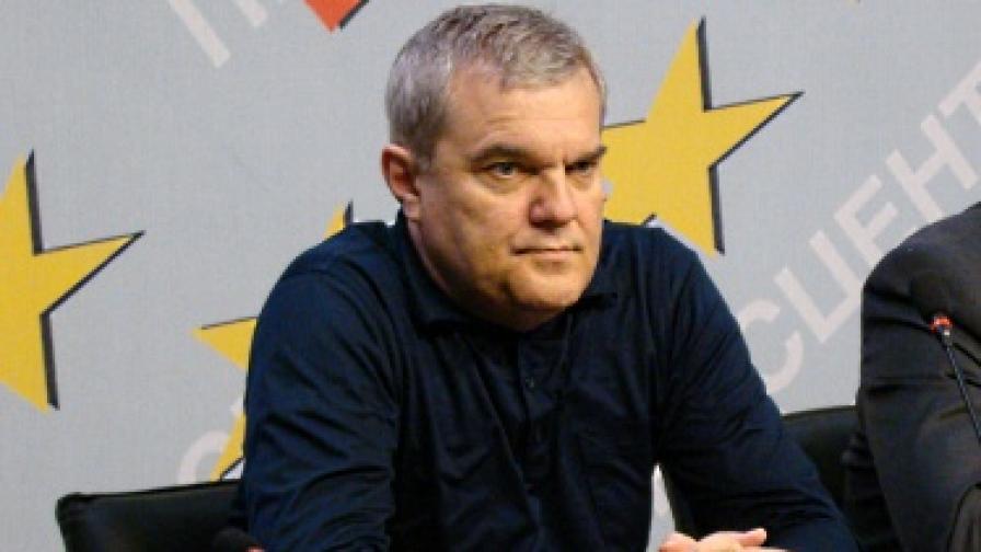 Румен Петков на пресконференцията днес