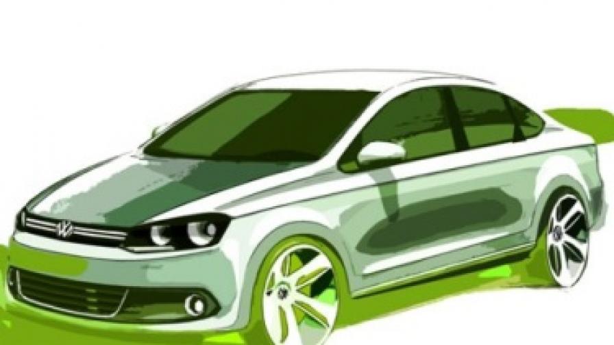 """VW разкри подробности за """"руския"""" си модел"""