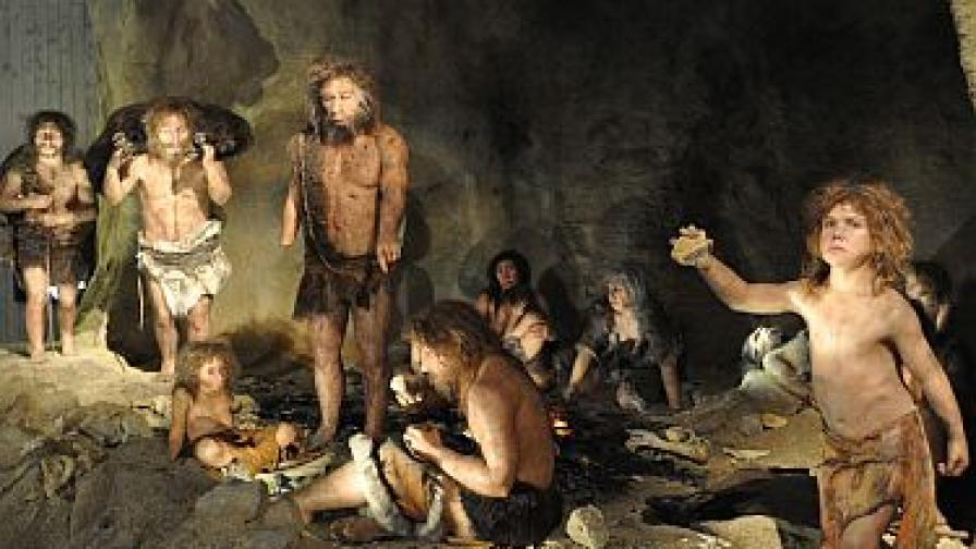 Хората и неандерталците интимно