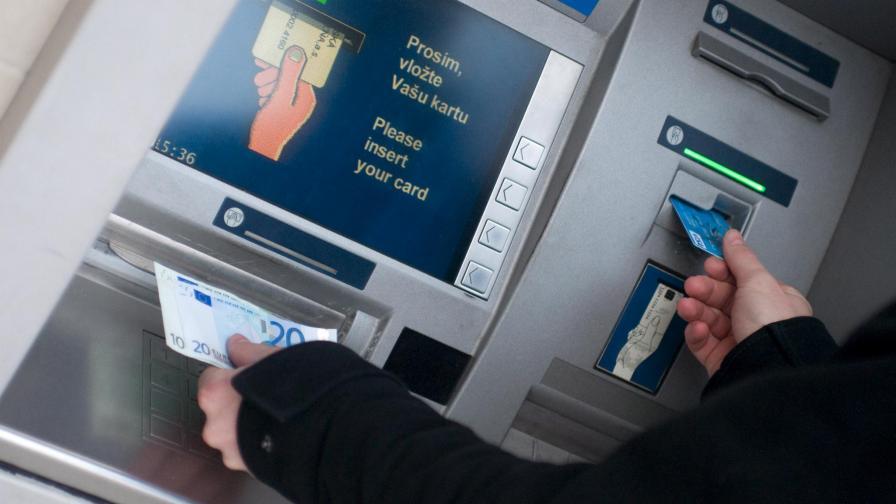 Банкомати четат биометрични данни