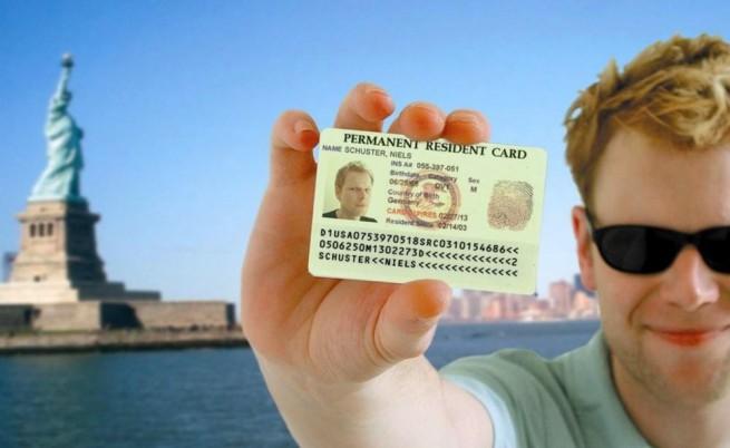 Новите зелени карти - трудни за фалшифициране