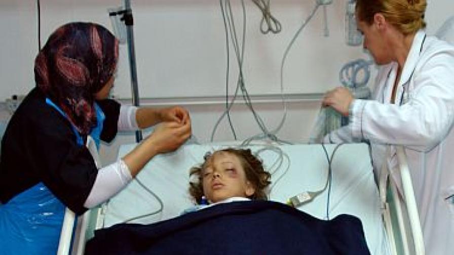 Рубен - момчето, което оцеля в катастрофата в Триполи