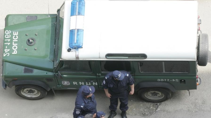 """Полицейска операция """"Дедесарите"""" в София"""