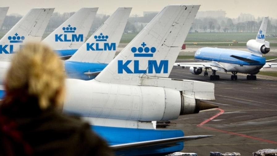 """Холандските летища Амстердам """"Схипхол"""" и Ротердам са затворени най-малко за осем часа на 17 май"""