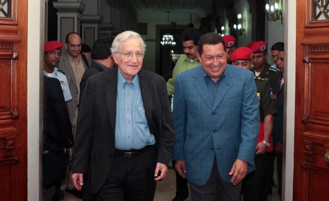 Върнатият Чомски: Израел е като при Сталин
