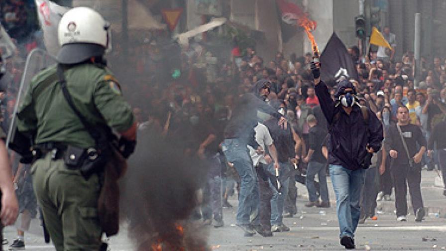 Протести в Гърция ще пречат на трафика през нашите ГКПП
