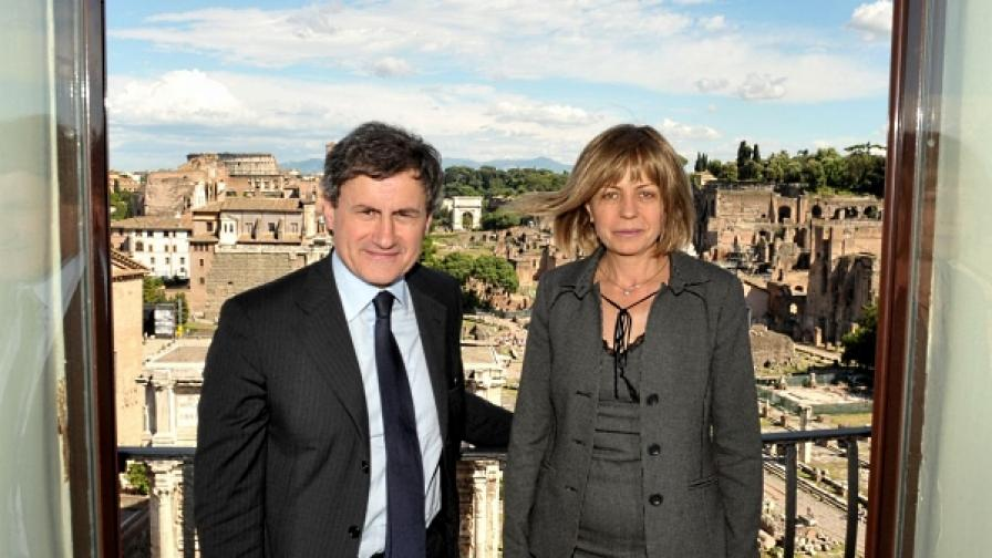 Кметът на София Йорданка Фандъкова бе гост на кмета на Рим Джани Алемано