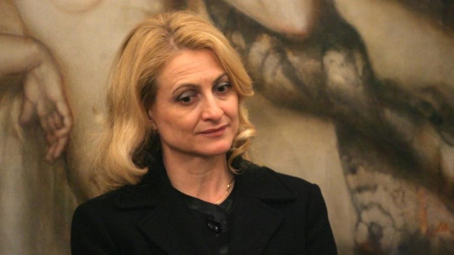 Цвета Маркова - председател на Държавната комисия по сигурността на информацията
