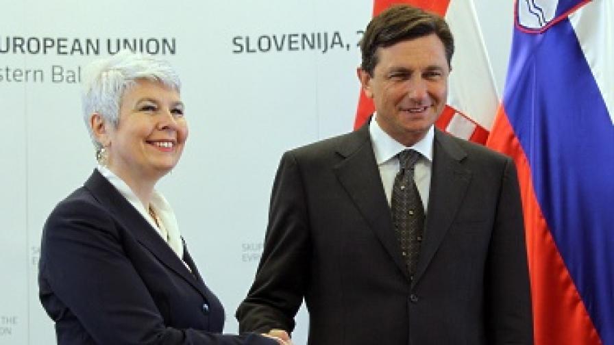 Словения и Хърватия отиват на международен арбитраж