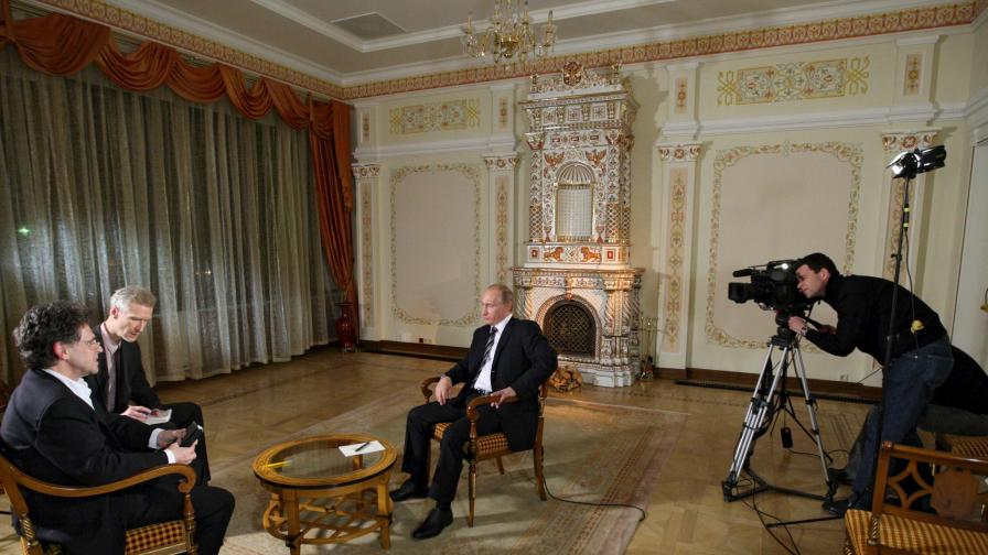 Путин дава интервю за германската АРД