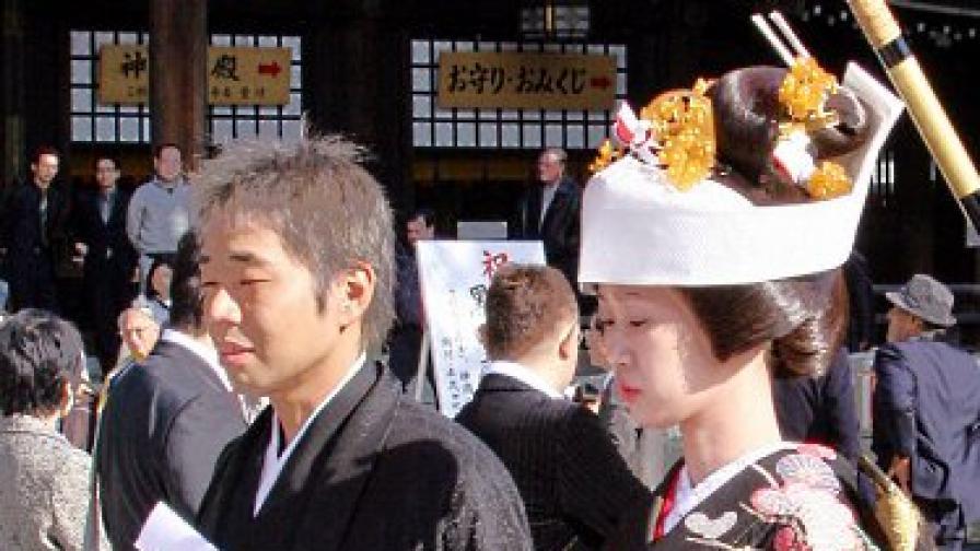 Развод по японски