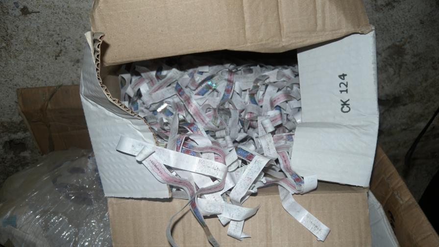 Фалшиви бандероли, открити при акция в Сливен