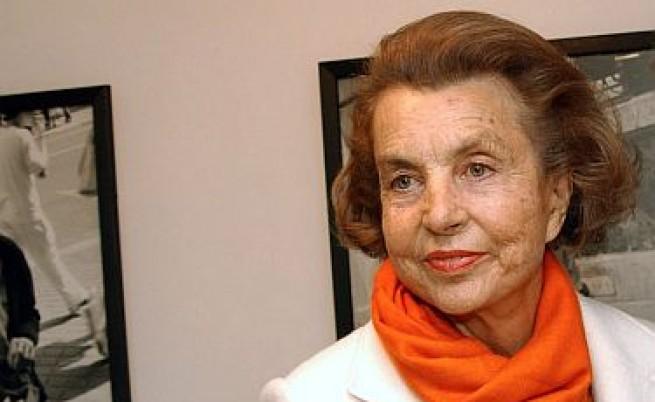 Саркози получил тлъсто дарение от милиардерка