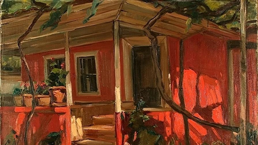 Голяма изложба на Никола Танев в НХГ