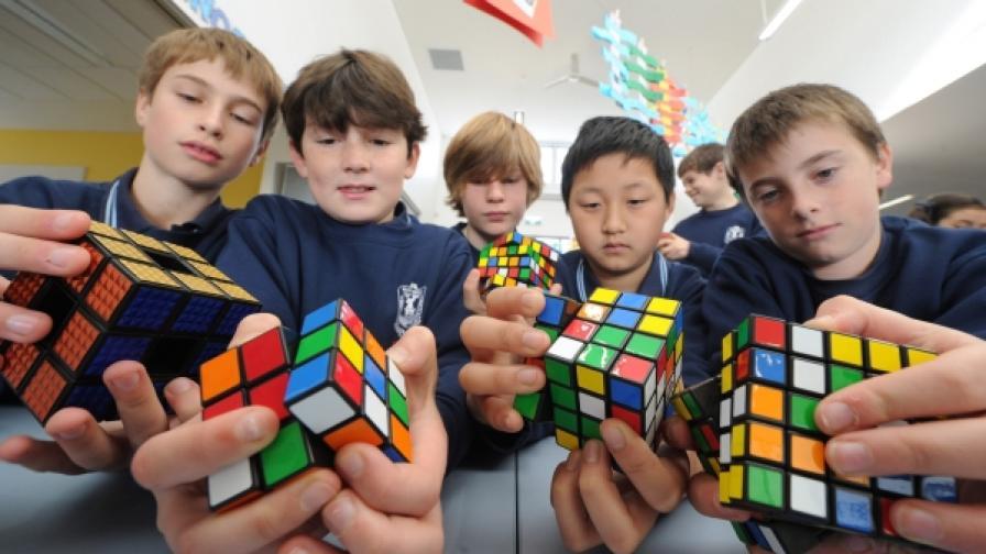 Състезание на ученици в начално училище в Австралия