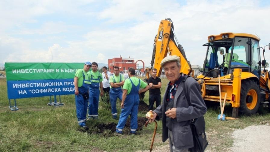 В началото на юни 2009 г. началото на строежа на първия канализационен колектор в  Горна баня беше голям празник