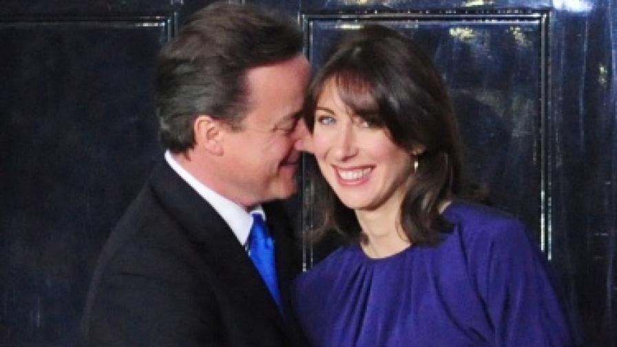 Британският премиер стана баща за четвърти път