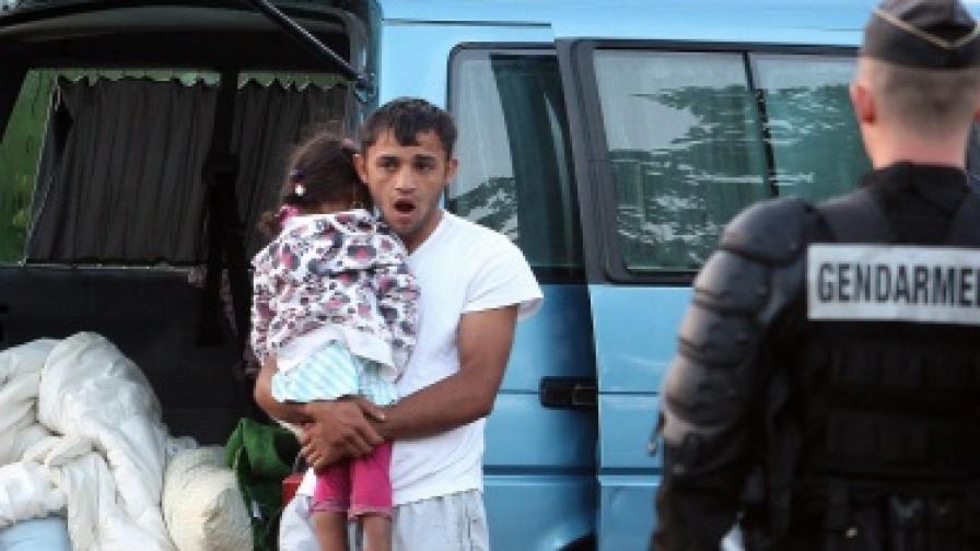 Румъния: Нито един от върнатите роми не е регистриран в полицията