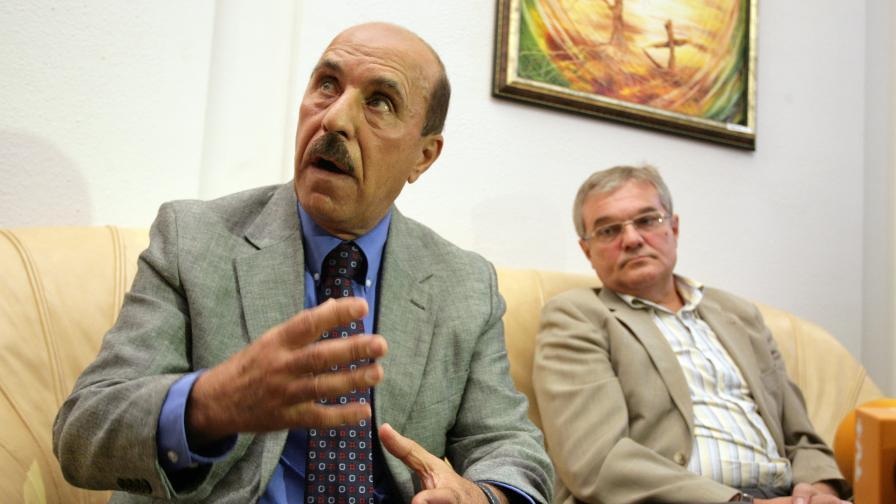 Ануар Бадуан и Румен Петков