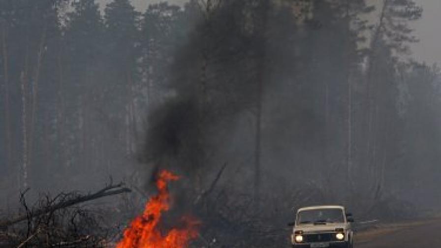 Над 400 къщи изгоряха в пожарите в Сибир