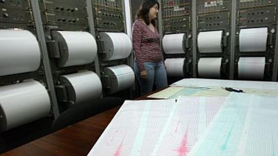 Слабо земетресение бе усетено в София