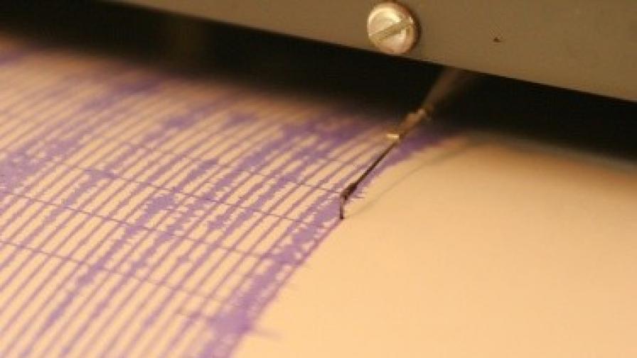 Слабо земетресение близо до границата с Гърция