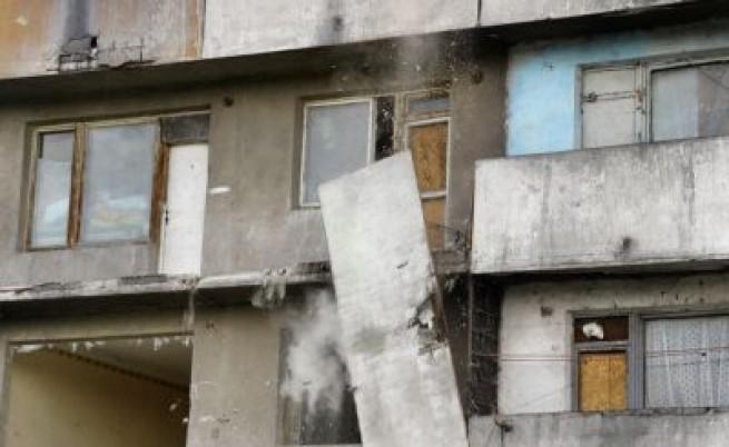 Бедствено положение около ромски блок