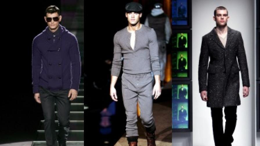 Военна мода при мъжете за есен-зима 2010