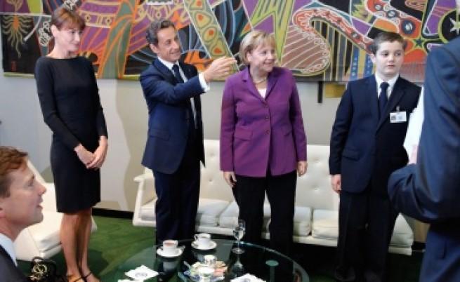 Саркози и Меркел: Край на полемиката за ромите