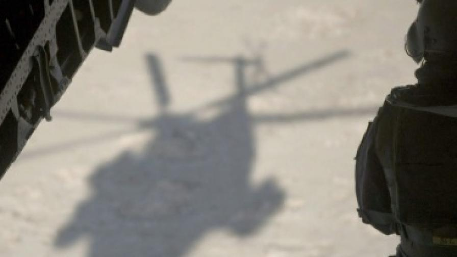 Хеликоптер на НАТО се разби в Афганистан, 9 са жертвите