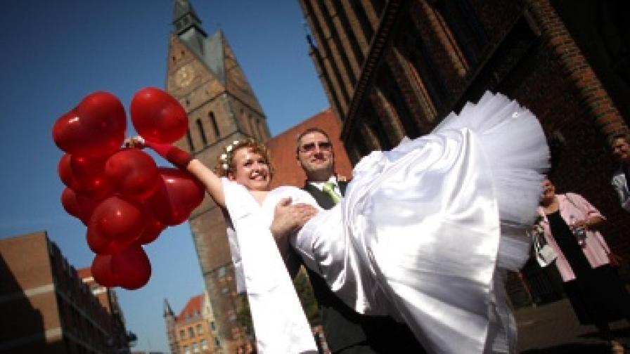 Сватбената рокля през вековете