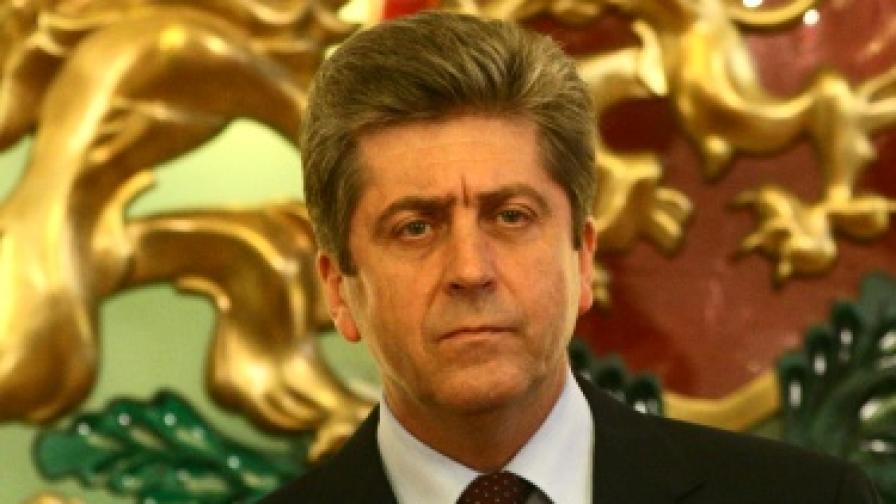 Президентът Георги Първанов