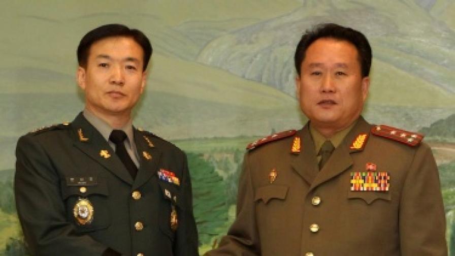 Преговорите между двете Кореи - неуспешни