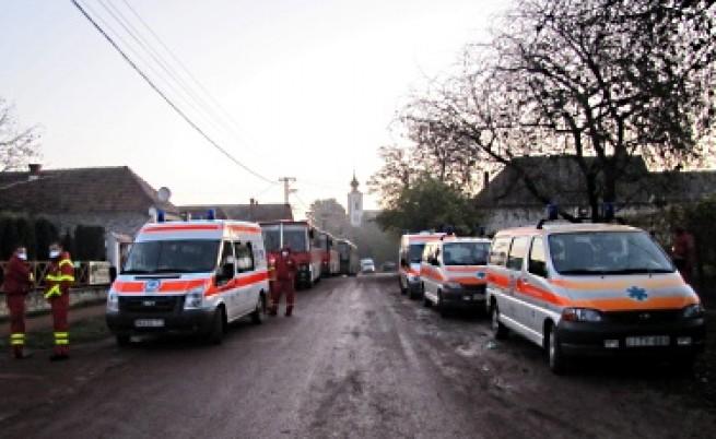 Евакуираха унгарско село заради опасност от нов разлив
