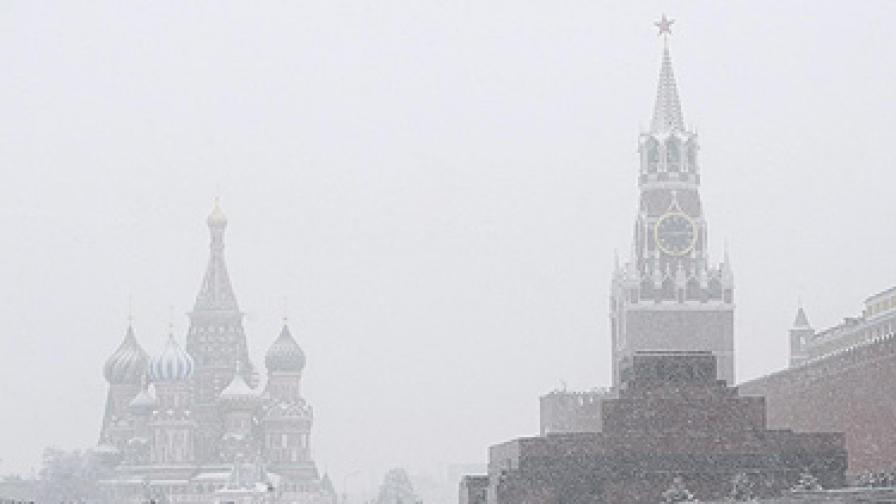 """""""Къпят"""" Москва за зимата"""