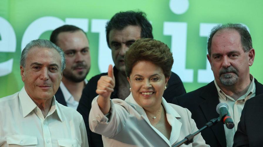 Русеф - първата жена президент на Бразилия