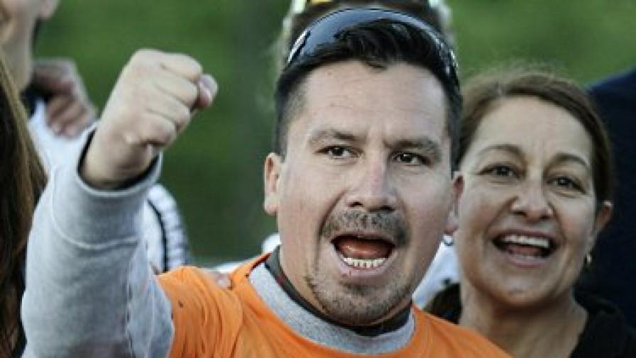 Един от чилийски миньори ще бяга в маратона на Ню Йорк