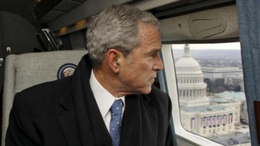 Буш: Бях против войната в Ирак
