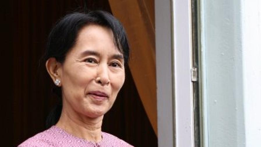 Аун Сан Су Чжи през 2009 г.
