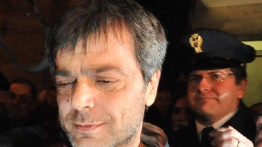 Антонио Йовине след ареста