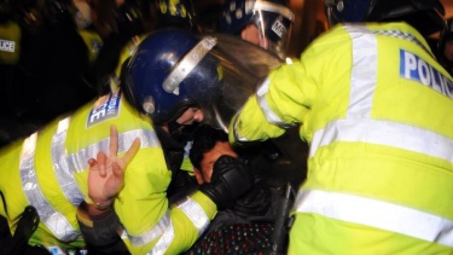 Как протестират студентите във Великобритания