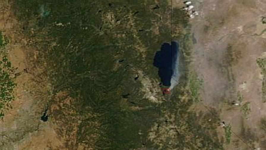 Езерата се затопляли по-бързо от земята и въздуха