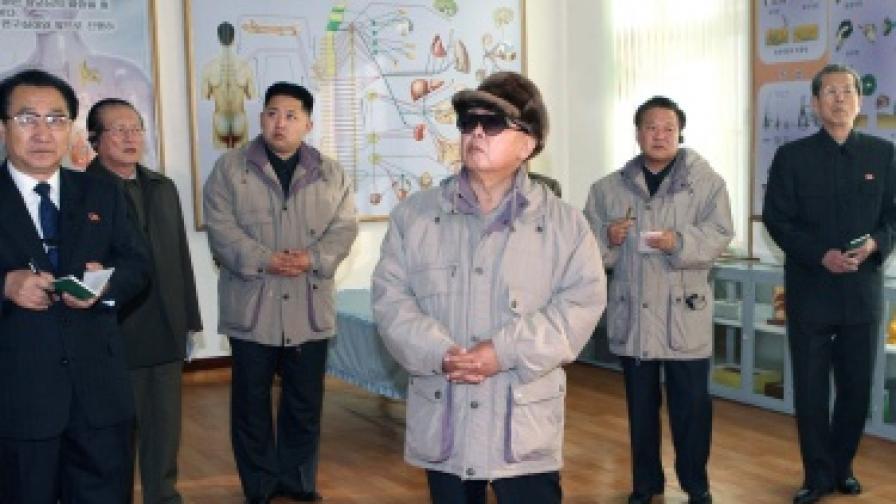 Севернокорейският лидер Ким Чен-ир