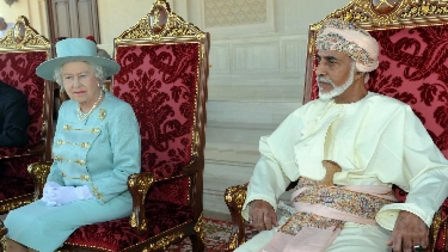 Пищни тържества за 40-годишниното управление на султана на Оман