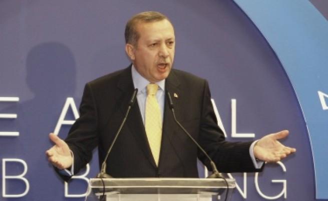 Ердоган бесен на