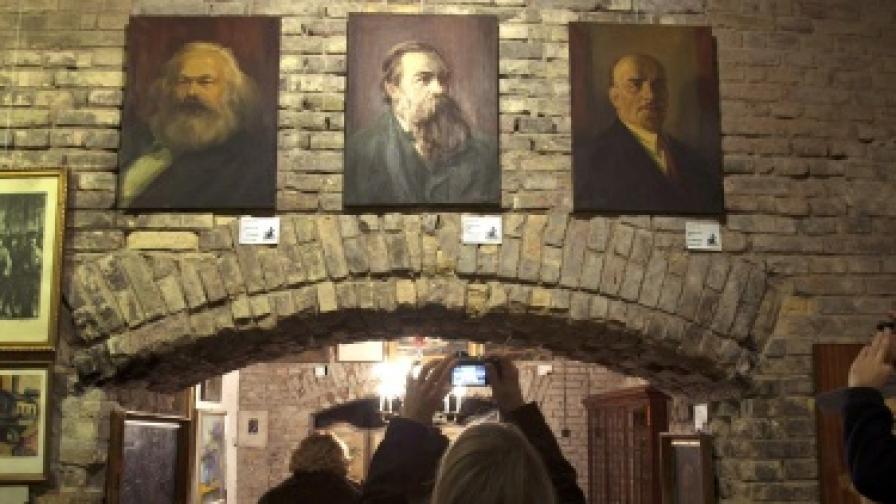 Изкуство от времето на комунизма срещу бедствия