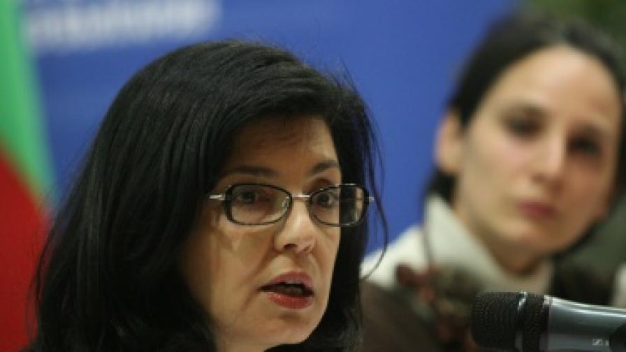 Меглена Кунева: На Централна гара е ужасно